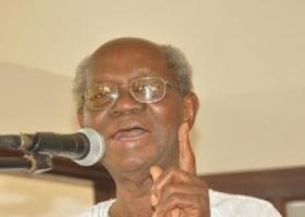 Emeritus Professor J. H. Kwabena Nketia receives special award